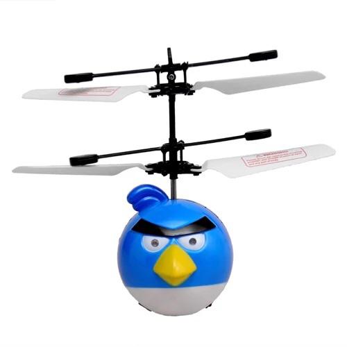 感应遥控耐飞机摔直升飞机愤怒的小鸟悬浮空中不落地