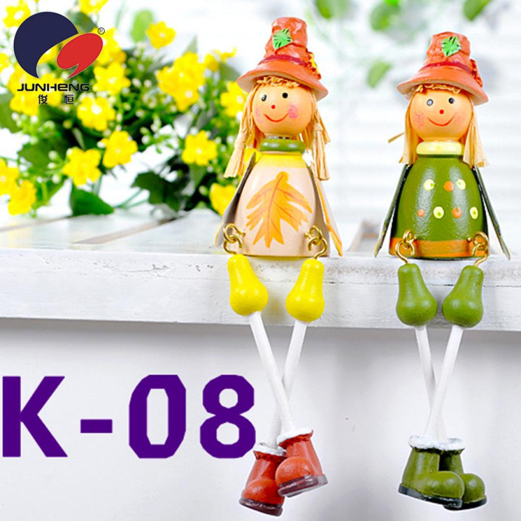 工艺品 木头娃娃 吊脚娃娃 喜庆礼品 创意礼品k04