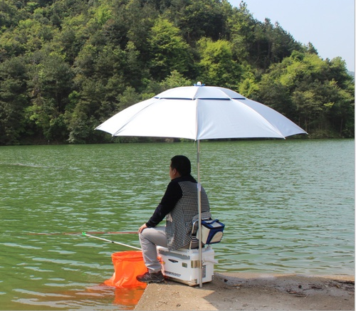 Step by step business-professional fishing umbrella, leisure umbrella, outdoor beach umbrella