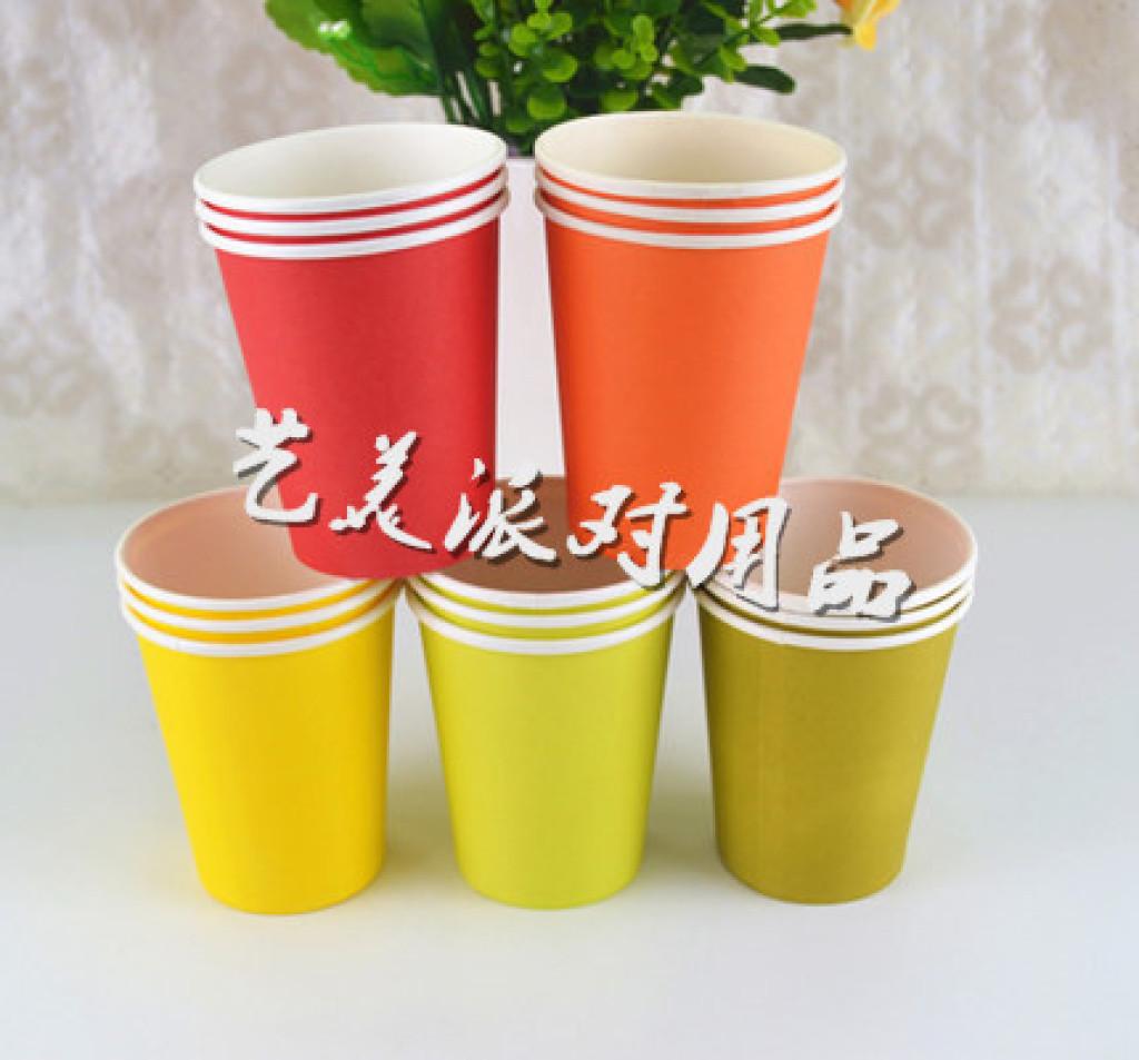 纸杯环保手工制作板凳