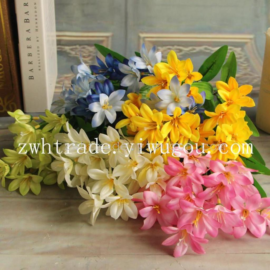 Supply The Mini 5 Color Flower Lily Beam Simulation Simulation Of