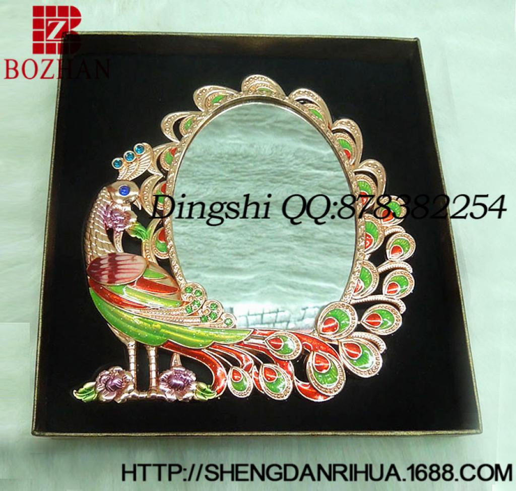 欧式复古 化妆镜梳子套装 梳妆台镜子 创意礼品