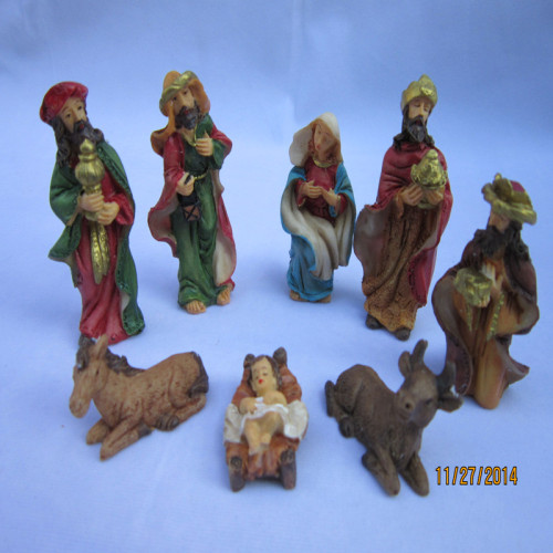 Creative gifts Christmas decoration crafts accessories professional manger factory direct religious custom