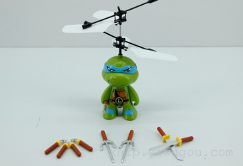 Remote sensing Airplane Aircraft induction TMNT toys for children