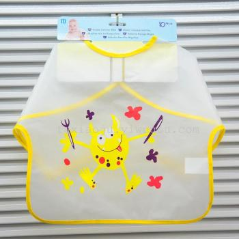 EVA long sleeved waterproof and anti - wear summer clothes and children's clothes, baby clothes