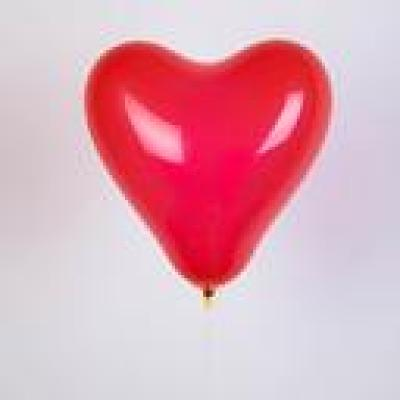 Mixed or pure latex love balloon inflatable toys