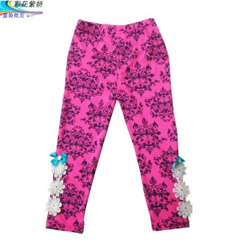 2017 boys girls leggings pants new Spring Autumn cartoons printed cotton trousers