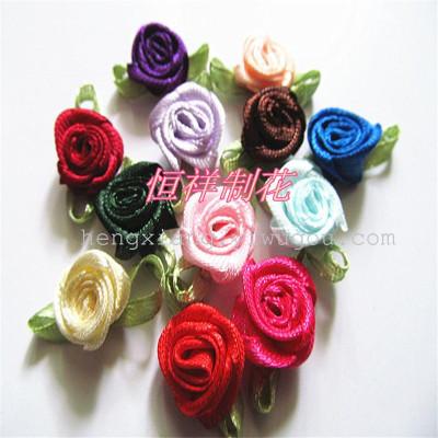 Hair ACC accessory materials DIY rose florets Zi garment accessories factory direct