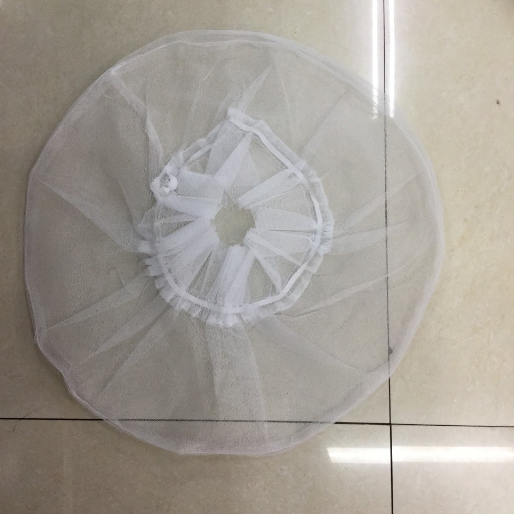 d94ccfe1271 Pure white lace fan cover fine fine net mesh dust cover to protect your  baby finger