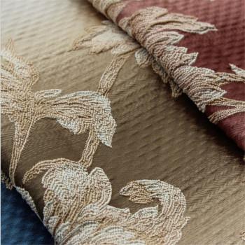 Sofa fabric wholesale Jian Ougao home fabrics Jacquard curtain fabric