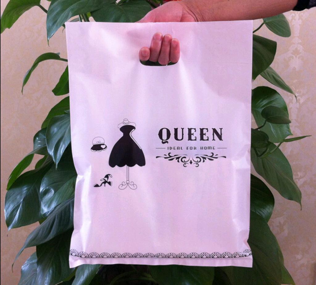 女装服装店袋子衣服袋子购物袋塑料袋手提袋包装袋袋