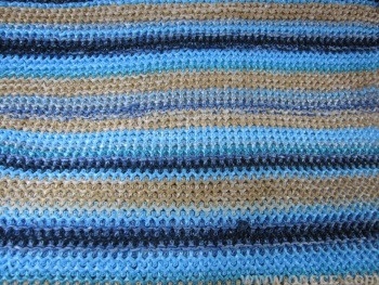 Woven PP grass knitted fabric