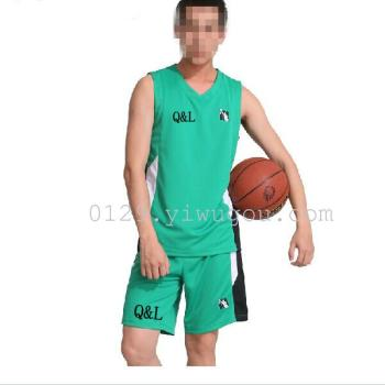 New men's summer basketball clothing suit uniform breathable sportswear jackets basketball clothes