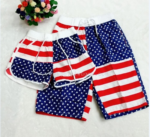 2015 summer five pants casual pants for men and women plus size relaxed couple Beach pants to quick-dry shorts hot pants