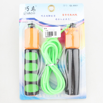 Factory direct 9.9 Yuan ten shop distribution of outdoor sports and fitness equipment products jump rope