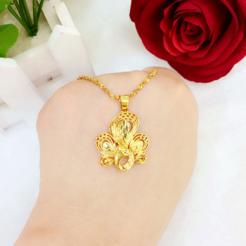 Hot euro jewelry simple Gold Phoenix summer clavicle pendant pendant