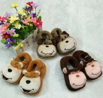Plush shoes baby shoes toddler shoes floor shoes