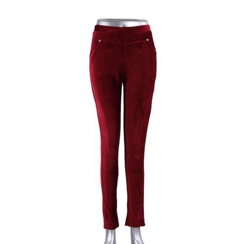 New ninth pants corduroy pants women's pants