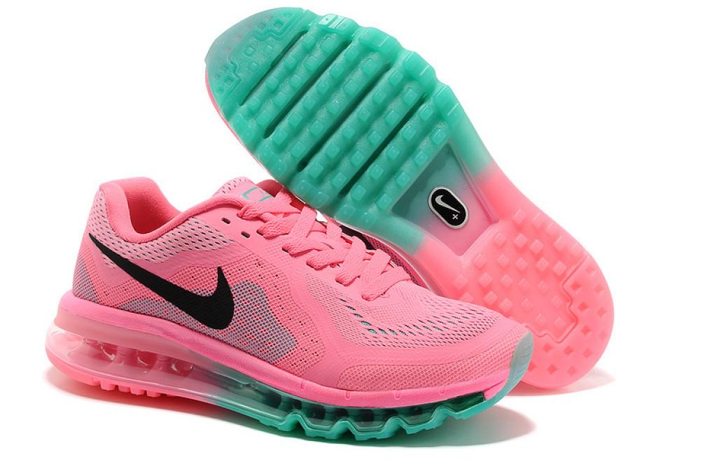 nike 耐克 air max2014女鞋运动鞋休闲鞋跑步鞋网鞋气垫鞋旅游鞋