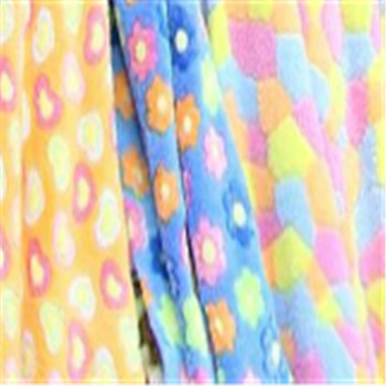 Color flannel pajamas short plush fleece sheets processing and accessories in stock