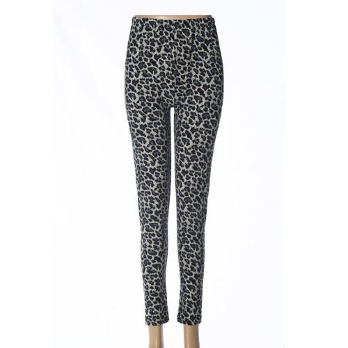 Milk fiber ninth leggings women's high-waisted pants mothers' pants