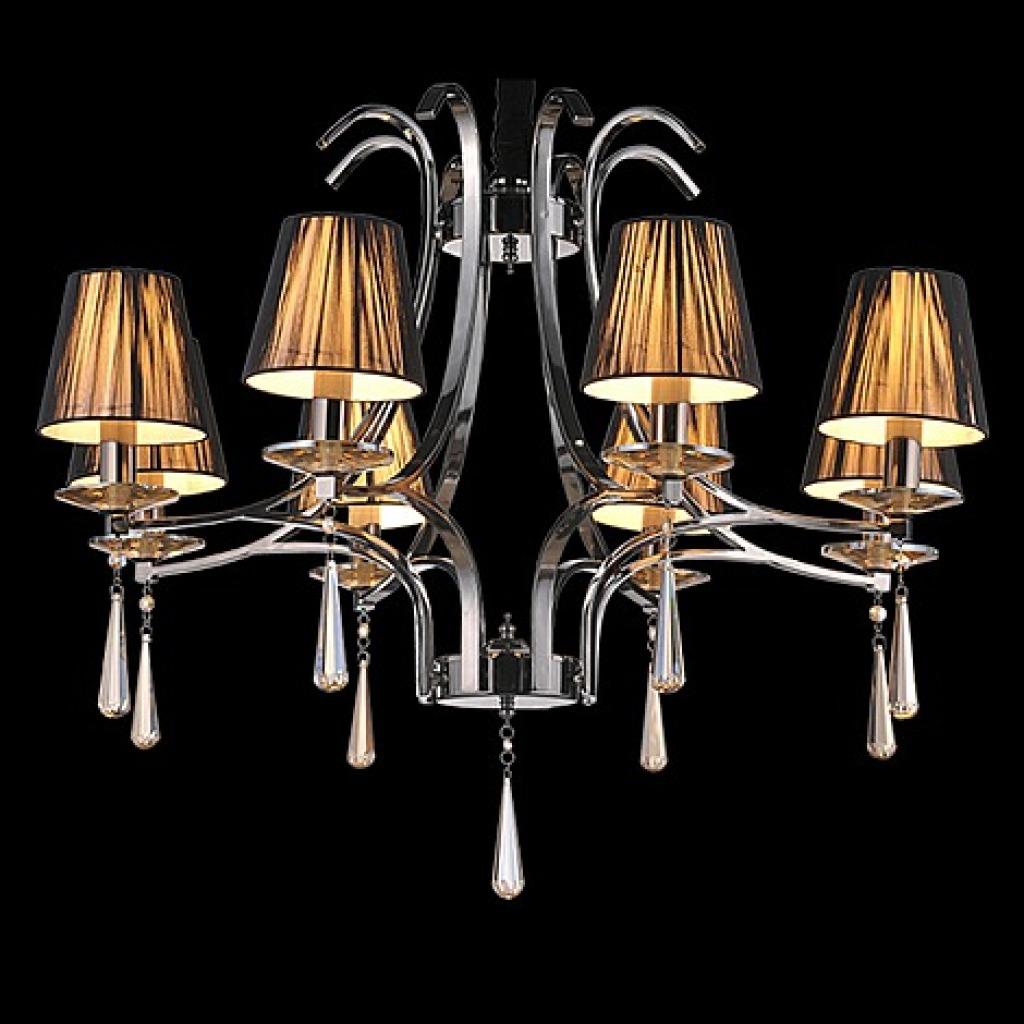 简约现代欧式水晶吊灯客厅卧室书房灯饰新古典后现代