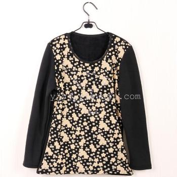 The new warm clothes new shirt coat blouse lace underwear coat.