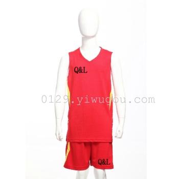 The new summer light children's basketball clothing sportswear suit children basketball jersey Custom