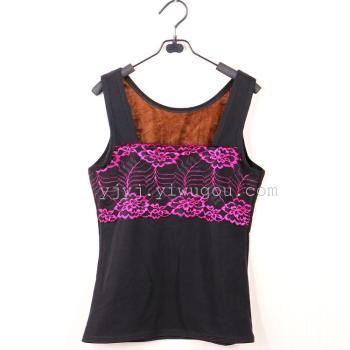 Warm winter lace vest vest vest new new fashion lace shirt jacket