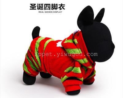 Supply Adidas Pet Santa Hat Cotton Padded Cotton Four Pet Pet Dog