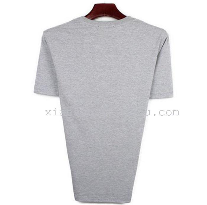 огромные дешевые мужчин с коротким рукавом футболка чистый цвет не XL мужчин футболку.