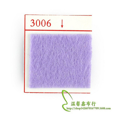 3mm color, 1 meter-wide non-woven polyester knitted fabric