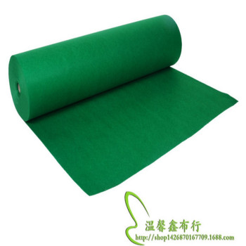 Green 1mm 90cm wide home felt cloth garment lined nonwovens