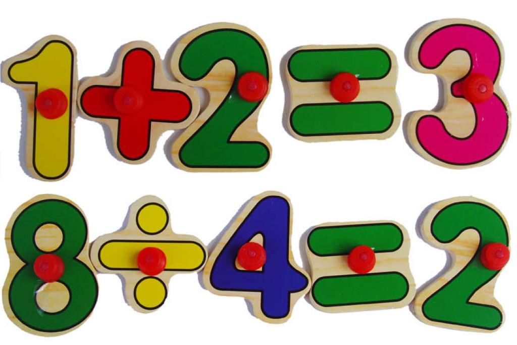 手抓数字符号木质拼版 认知数字形状 幼儿早教