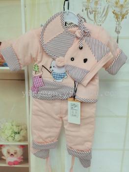 Xin Baoyuan baby clothes coat thin cotton five piece