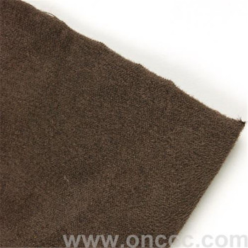 Warp knitted suede fabric strong decorative effect