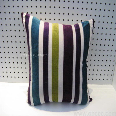 Striped waist polyester pillow car sofa cushion the Office