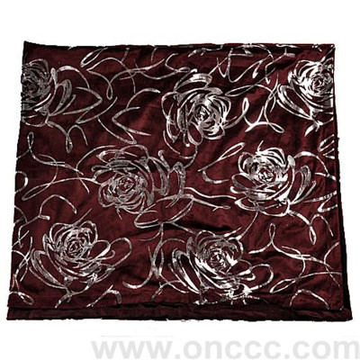 Dark red-super soft blanket trade blanket bedding
