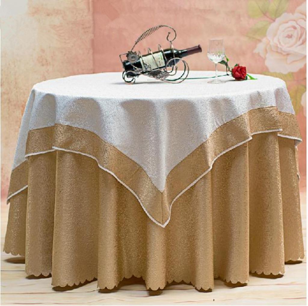 酒店餐厅桌布欧式餐桌布中式台布茶几布
