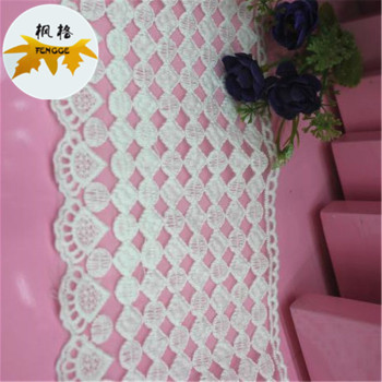 Water soluble gauze lace garment accessory factory outlet cutout lace new lace lace
