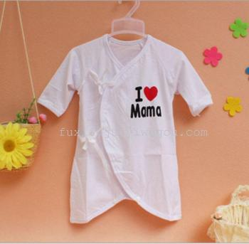 The newborn baby romper cotton underwear Jumpsuit He Shangyi butterfly baby clothes