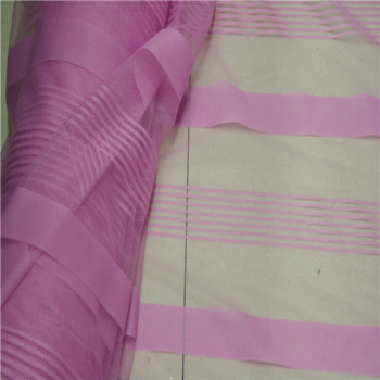 Factory direct AB striped pattern knitted fabric