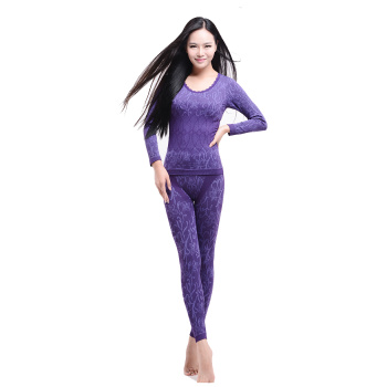 2015 new autumn and winter - waist thermal underwear sets D-1587