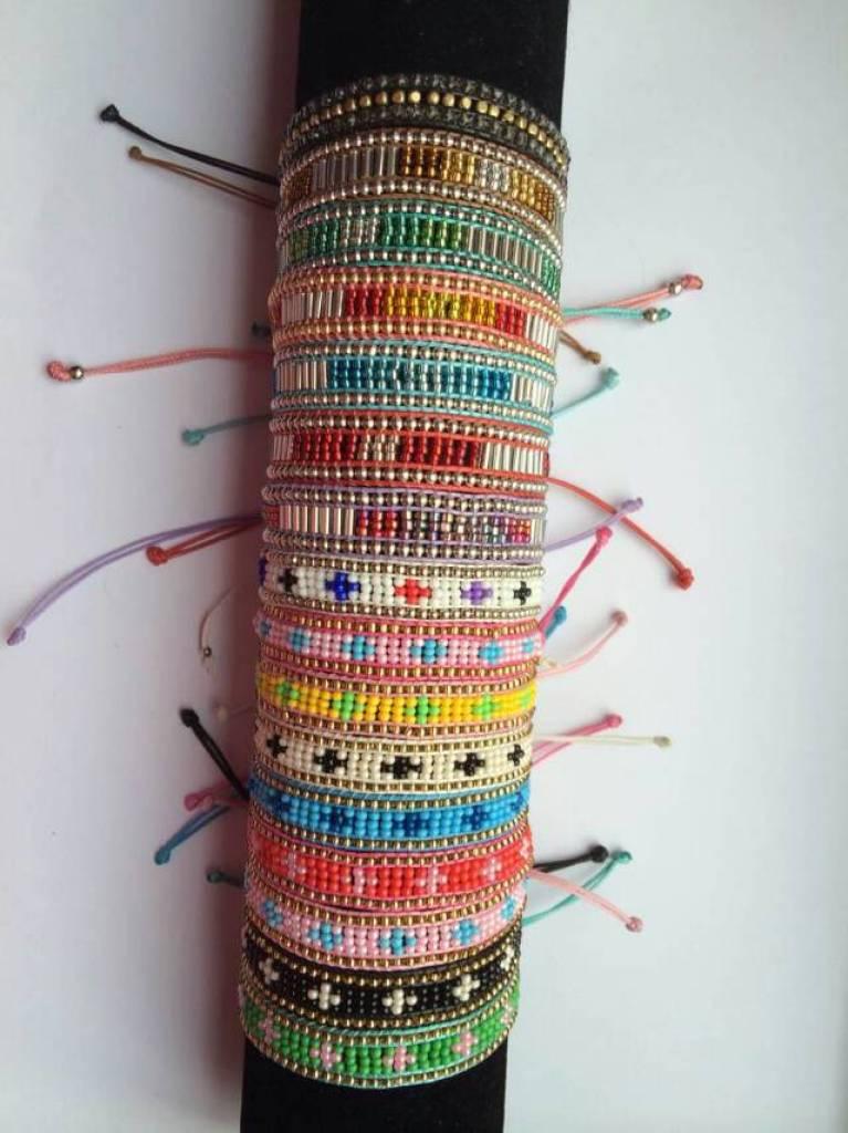编织手链 米珠手链
