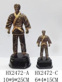 体育举办树脂跆拳道奖品体育运动系列厂家纪直销舞蹈奖杯v体育图片