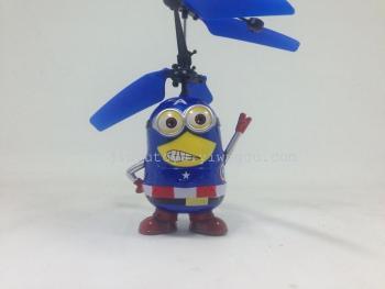 感应玩具 感应飞行器 感应小黄人