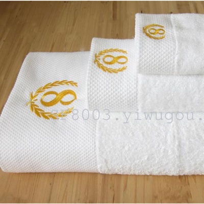 Cotton increased five Stars Hotel solid sport towel bath towel