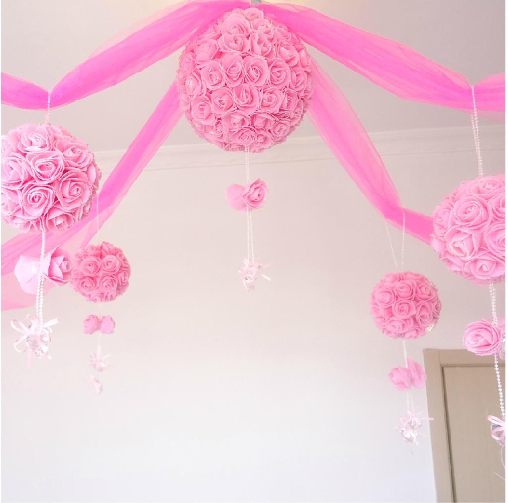 创意婚房布置花球 结婚装饰拉花