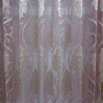 A variety of colors, embroidery, translucent curtain fabric