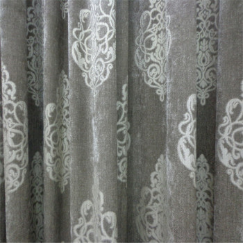 Variety of colors, silver, prints, curtain fabric